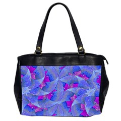 Abstract Deco Digital Art Pattern Oversize Office Handbag (two Sides) by dflcprints