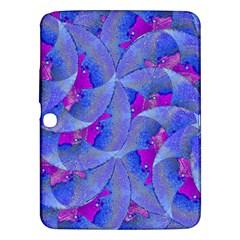 Abstract Deco Digital Art Pattern Samsung Galaxy Tab 3 (10 1 ) P5200 Hardshell Case  by dflcprints