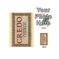 Credo   Deck 1 By Mike   Playing Cards 54 (mini)   I60xs0nxypu3   Www Artscow Com Back
