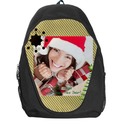 Xmas By Xmas   Backpack Bag   Cmmb9kmh86fd   Www Artscow Com Front