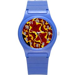 Tribal Summer Nightsdreams Pattern Plastic Sport Watch (small) by dflcprints