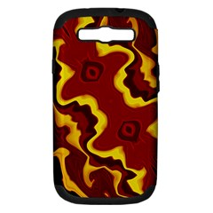 Tribal Summer Nightsdreams Pattern Samsung Galaxy S Iii Hardshell Case (pc+silicone) by dflcprints