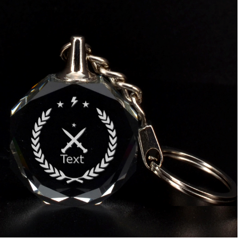 3d Key Chan By X   3d Engraving Circle Key Chain   Ag29a7sc67rr   Www Artscow Com Front