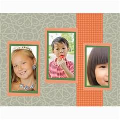 Kids By Kids   Wall Calendar 11  X 8 5  (18 Months)   Mnd4vo4s2fuq   Www Artscow Com Month