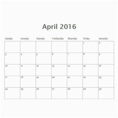Kids By Kids   Wall Calendar 11  X 8 5  (18 Months)   Bou0euulkcbq   Www Artscow Com Apr 2016