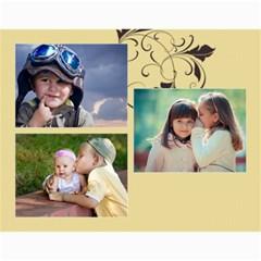 Kids By Kids   Wall Calendar 11  X 8 5  (18 Months)   Bou0euulkcbq   Www Artscow Com Month