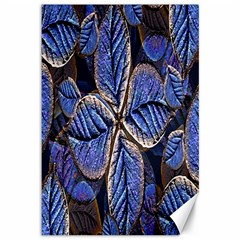 Fantasy Nature Pattern Print Canvas 12  X 18  (unframed)