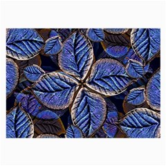 Fantasy Nature Pattern Print Glasses Cloth (large, Two Sided) by dflcprints