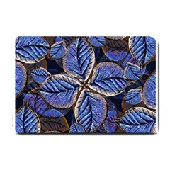 Fantasy Nature Pattern Print Small Door Mat by dflcprints