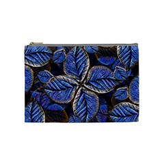 Fantasy Nature Pattern Print Cosmetic Bag (medium) by dflcprints