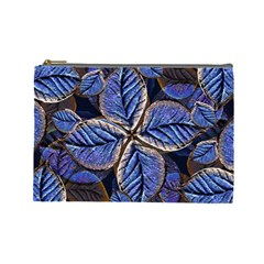 Fantasy Nature Pattern Print Cosmetic Bag (large) by dflcprints