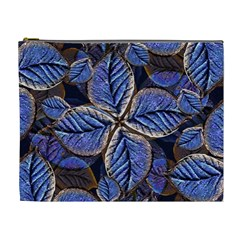Fantasy Nature Pattern Print Cosmetic Bag (xl) by dflcprints