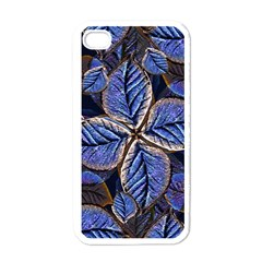 Fantasy Nature Pattern Print Apple Iphone 4 Case (white) by dflcprints