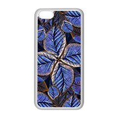 Fantasy Nature Pattern Print Apple Iphone 5c Seamless Case (white) by dflcprints