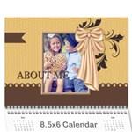 kids - Wall Calendar 8.5  x 6