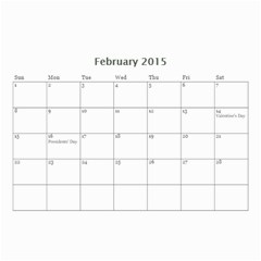 Kids By Kids   Wall Calendar 8 5  X 6    Ehdrm6013an6   Www Artscow Com Feb 2015