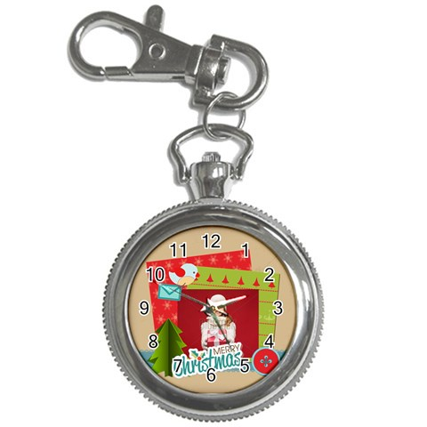 Xmas By Xmas   Key Chain Watch   Poz4mo07f86r   Www Artscow Com Front
