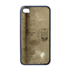Declaration Apple Iphone 4 Case (black) by mynameisparrish