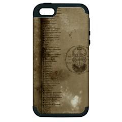 Declaration Apple Iphone 5 Hardshell Case (pc+silicone) by mynameisparrish
