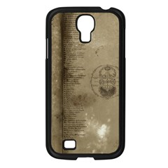 Declaration Samsung Galaxy S4 I9500/ I9505 Case (black) by mynameisparrish