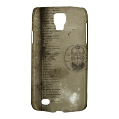 Declaration Samsung Galaxy S4 Active (i9295) Hardshell Case by mynameisparrish