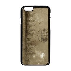 Declaration Apple Iphone 6 Black Enamel Case by mynameisparrish