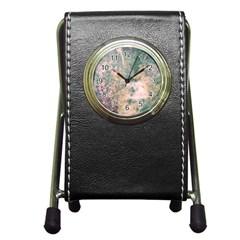 Chernobyl;  Vintage Old School Series Stationery Holder Clock
