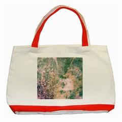 Chernobyl;  Vintage Old School Series Classic Tote Bag (red) by mynameisparrish