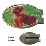 Brussels griffon Money Clip (Oval)