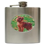 Brussels griffon Hip Flask (6 oz)