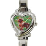 Brussels griffon Heart Italian Charm Watch