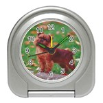 Brussels griffon Travel Alarm Clock