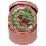 Brussels griffon Jewelry Case Clock