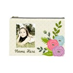 Cosmetic Bag (L): Ranunculus Flowers - Cosmetic Bag (Large)