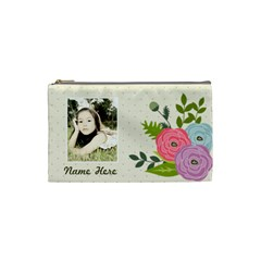 Cosmetic Bag (s): Ranunculus Flowers By Jennyl   Cosmetic Bag (small)   3vx1cesa4z02   Www Artscow Com Front