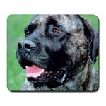 bull mastiff Large Mousepad