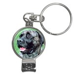 bull mastiff Nail Clippers Key Chain