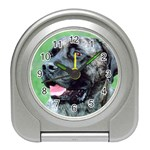 bull mastiff Travel Alarm Clock