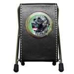 bull mastiff Pen Holder Desk Clock