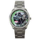 bull mastiff Sport Metal Watch