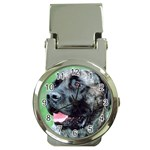 bull mastiff Money Clip Watch