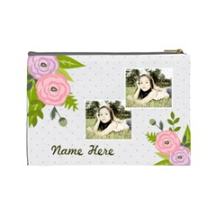 Cosmetic Bag (l): Ranunculus Flowers2 By Jennyl   Cosmetic Bag (large)   Urzs58t9ohj9   Www Artscow Com Back