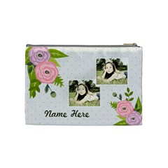 Cosmetic Bag (m): Ranunculus Flowers2 By Jennyl   Cosmetic Bag (medium)   Zylgwuro6pu3   Www Artscow Com Back