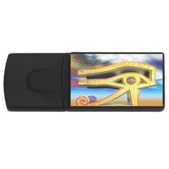 Horus Eye1 USB Flash Drive Rectangular (1 GB) from ArtsNow.com Front