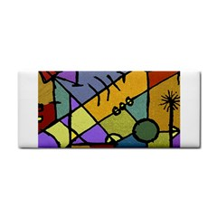 Multicolored Tribal Pattern Print Hand Towel by dflcprints