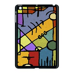 Multicolored Tribal Pattern Print Apple Ipad Mini Case (black) by dflcprints
