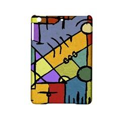 Multicolored Tribal Pattern Print Apple Ipad Mini 2 Hardshell Case by dflcprints
