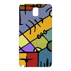 Multicolored Tribal Pattern Print Samsung Galaxy Note 3 N9005 Hardshell Back Case by dflcprints