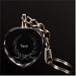 3d key chan - 3D Engraving Heart Key Chain
