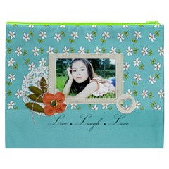 Cosmetic Bag (xxxl): Live Love Laugh By Jennyl   Cosmetic Bag (xxxl)   Kxobt5heo2to   Www Artscow Com Back